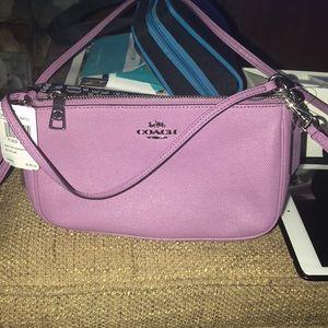 COACH Lavender crossbody bag